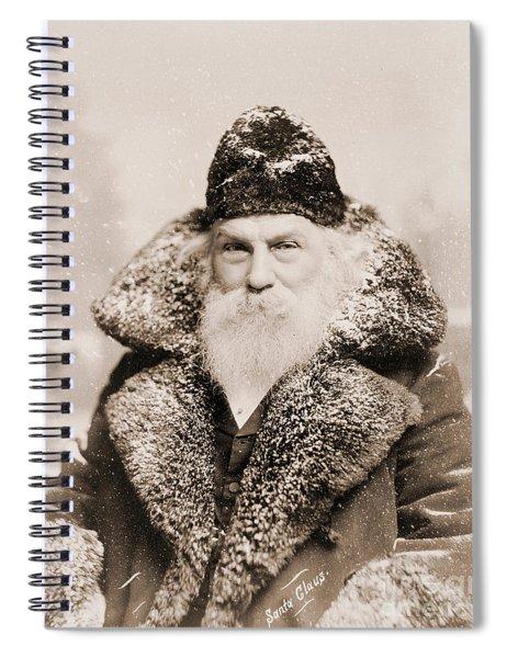 Real Life Santa Claus Spiral Notebook