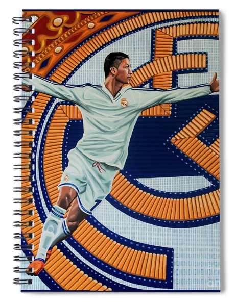Real Madrid Painting Spiral Notebook