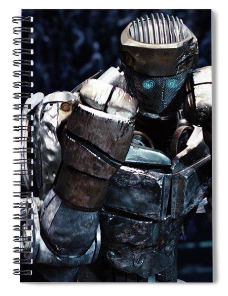Real Steel Atom Spiral Notebook