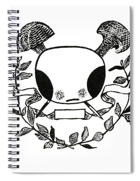 Rebel Rebel Spiral Notebook