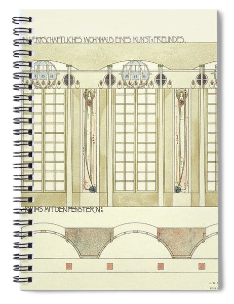Reception And Music Room Spiral Notebook