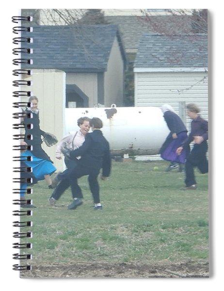 Recess Fun Spiral Notebook
