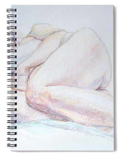 Reclining Study 2 Spiral Notebook
