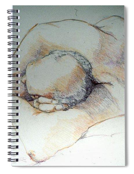 Reclining Study 3 Spiral Notebook
