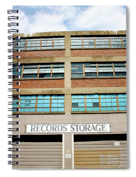 Records Storage- Nashville Photography By Linda Woods Spiral Notebook