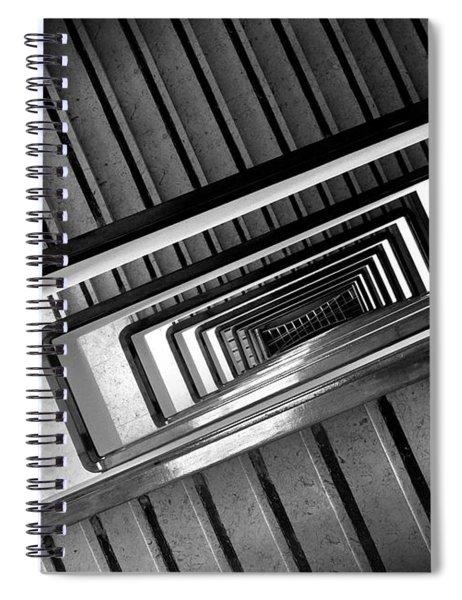 Rectangular Spiral Staircase Spiral Notebook