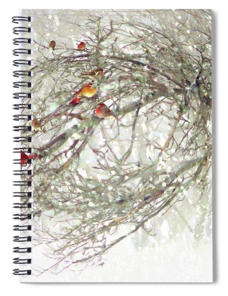 Red Bird Convention Spiral Notebook