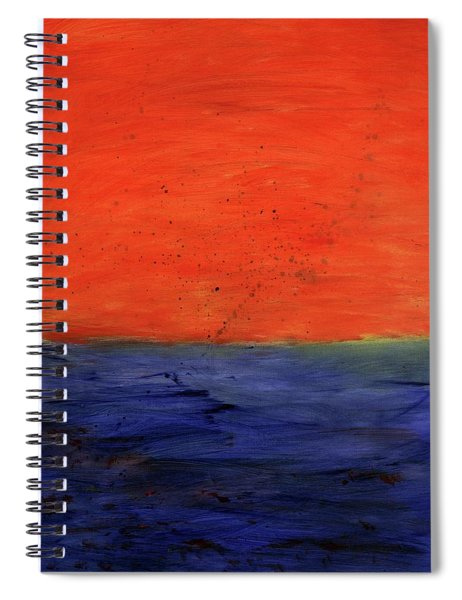 Red, Blue And You Spiral Notebook