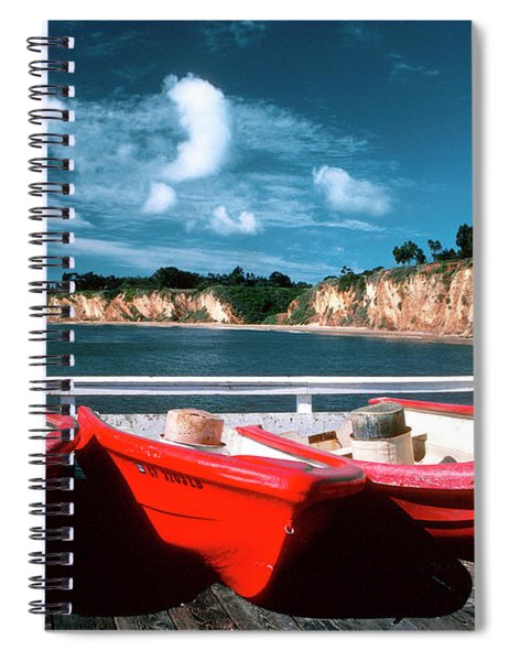 Red Boat Diaries Spiral Notebook