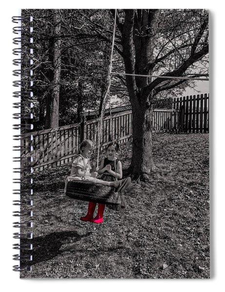 Red Boots Spiral Notebook