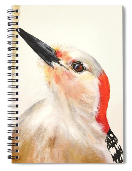Red Breasted Woodpecker Spiral Notebook
