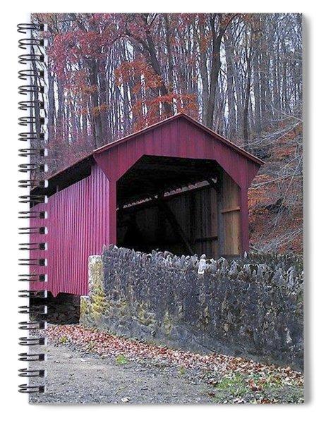 Red Bridge Spiral Notebook