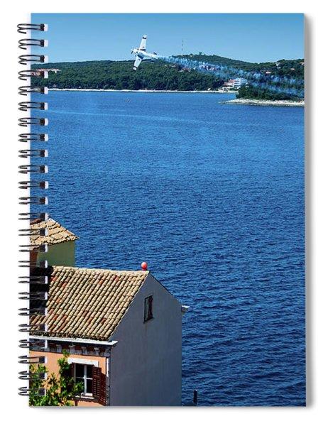 Red Bull Air Show, Rovinj, Croatia Spiral Notebook