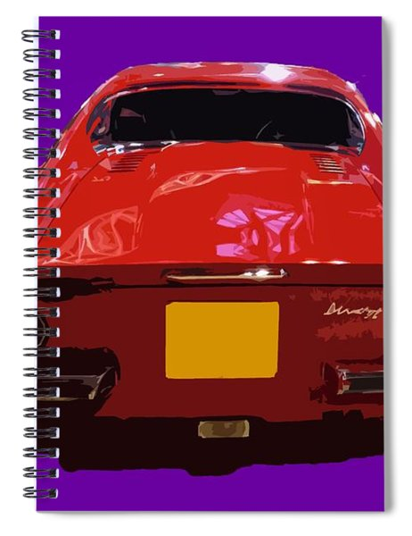 Red Classic Emd Spiral Notebook