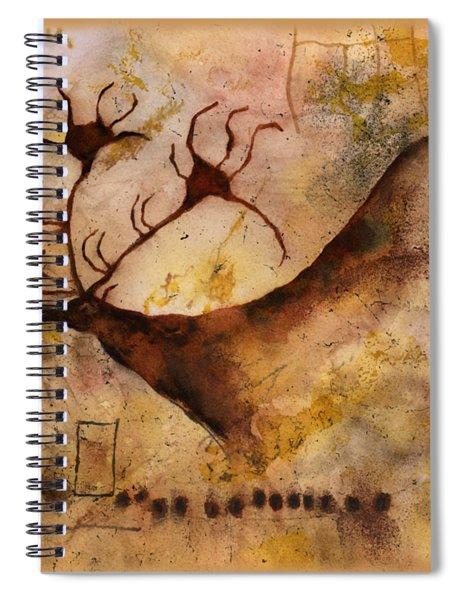 Red Deer Spiral Notebook