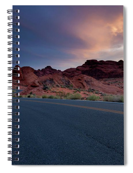 Red Desert Highway Spiral Notebook