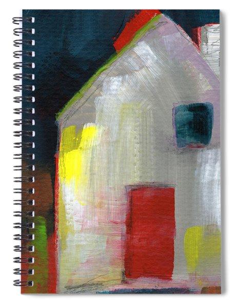 Red Door- Art By Linda Woods Spiral Notebook