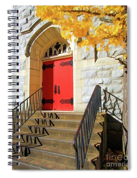 Messiah Lutheran Church Spiral Notebook