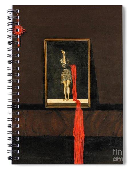 Red Echo Spiral Notebook