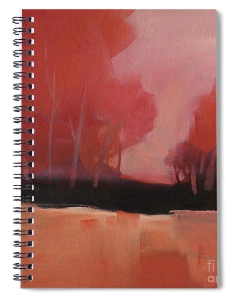 Red Flair Spiral Notebook