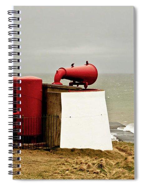 Red Foghorn. Spiral Notebook