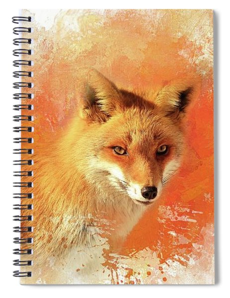 Red Fox Spiral Notebook