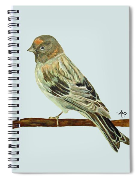 Red-fronted Serin Spiral Notebook