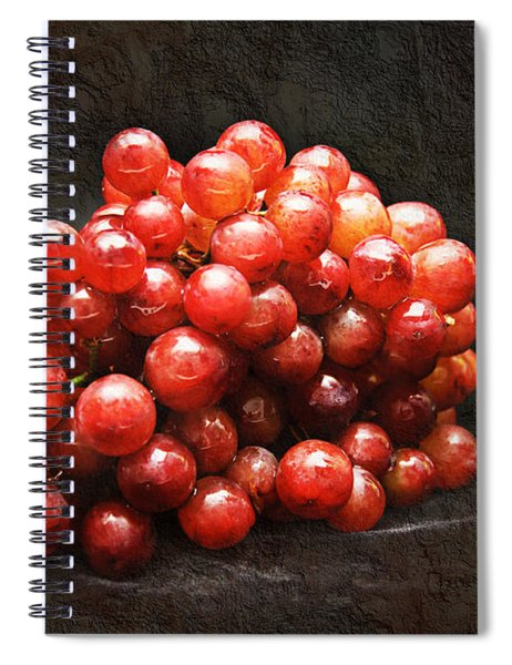 Red Grapes Spiral Notebook