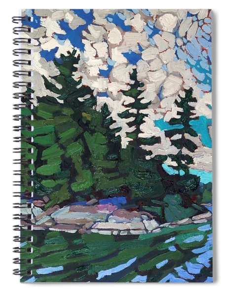 Red Horse Paradise Spiral Notebook