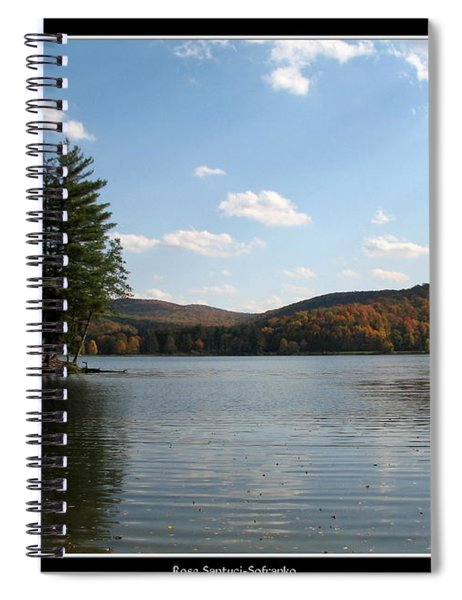 Red House Lake Allegany State Park Ny Spiral Notebook