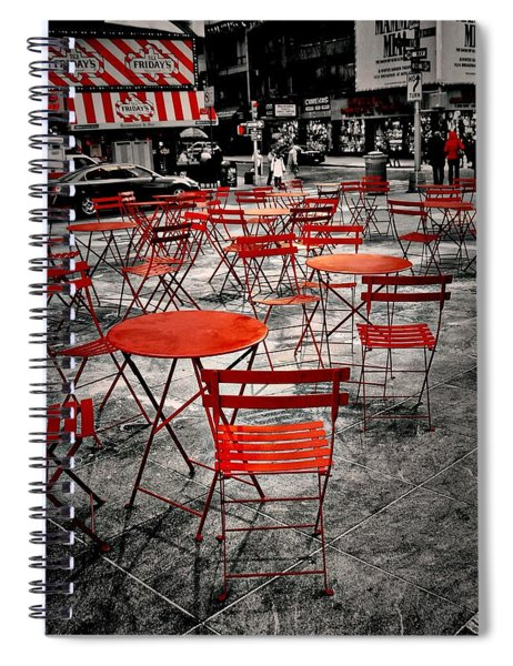 Red In My World - New York City Spiral Notebook