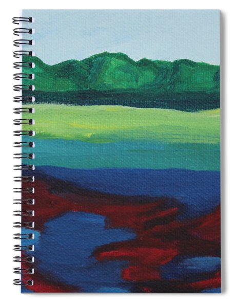 Red Lake Spiral Notebook
