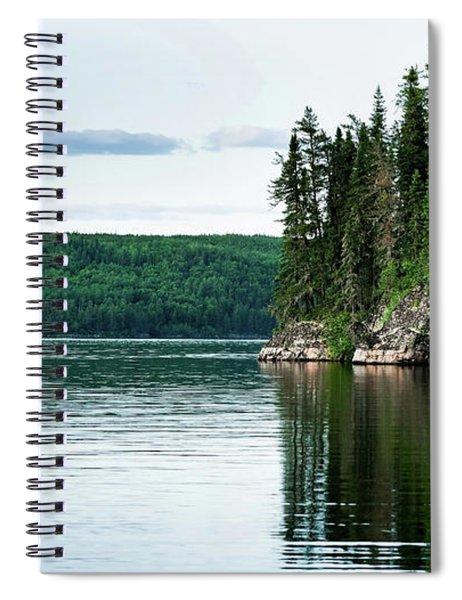 Red Lake Ontario Spiral Notebook