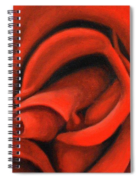 Red Lips Spiral Notebook