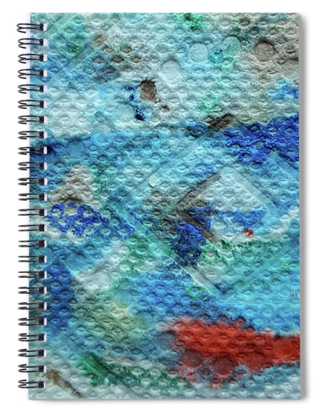 Red Message Spiral Notebook