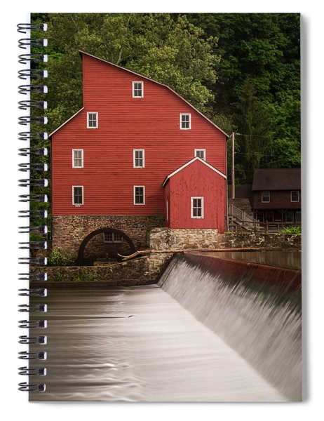 Red Mill Clinton New Jersey Spiral Notebook