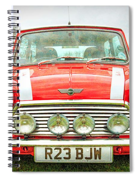 Red Mini Spiral Notebook