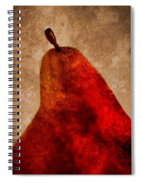 Red Pear II Spiral Notebook