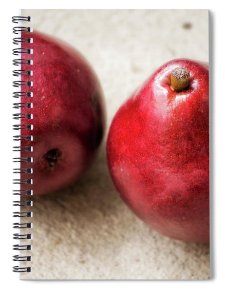 Red Pears Spiral Notebook