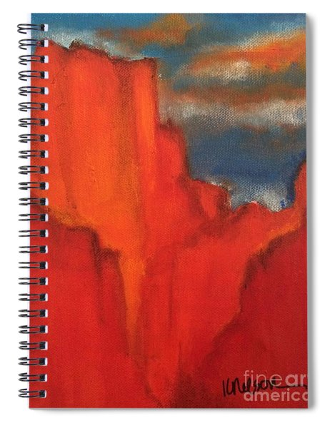 Red Rocks Spiral Notebook