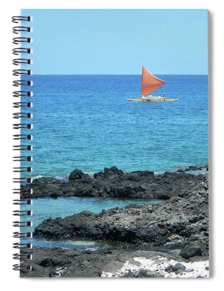 Red Sail Spiral Notebook