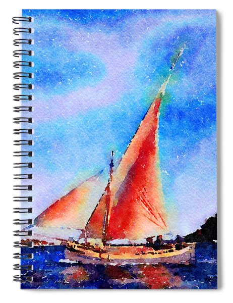 Red Sails Delight Spiral Notebook