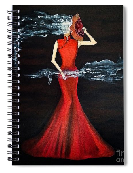 Scented Red Color Spiral Notebook
