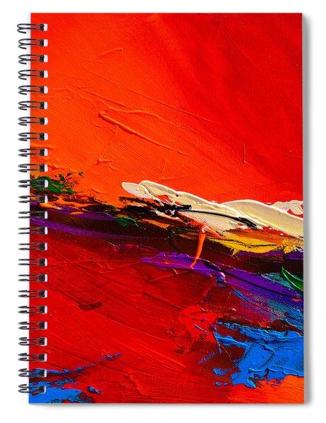 Red Sensations Spiral Notebook