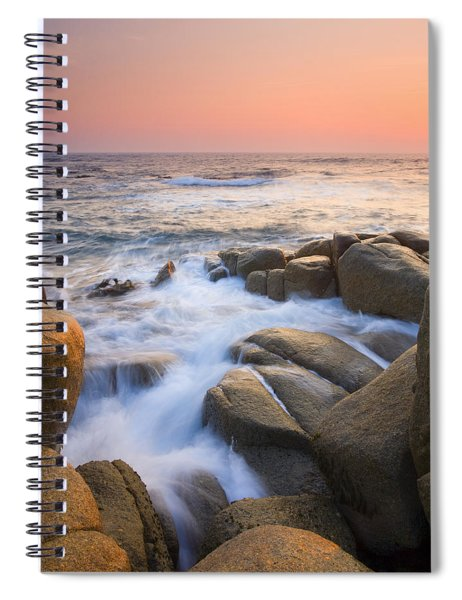 Red Sky At Morning Spiral Notebook