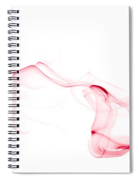 Red Smoke Spiral Notebook