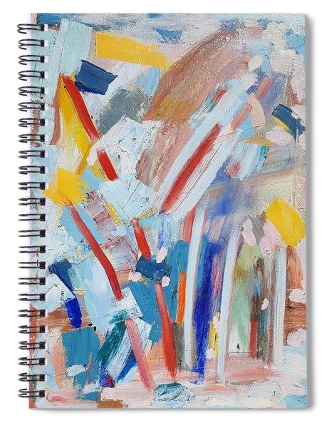 Red Sticks Spiral Notebook