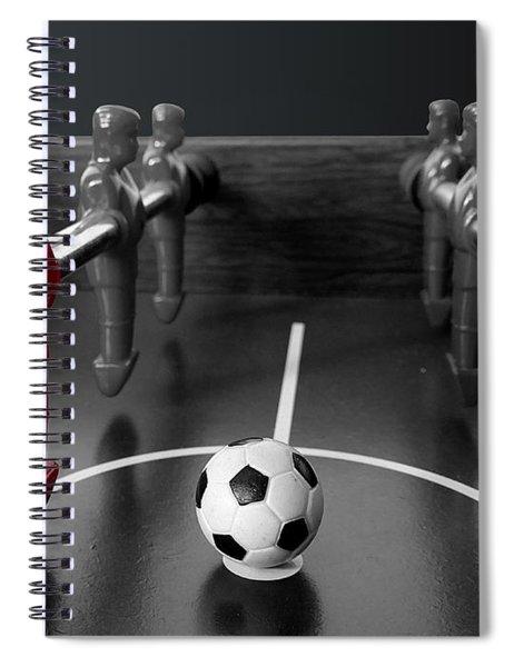 Red Striker Spiral Notebook