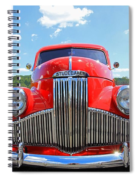 Red Studebaker Spiral Notebook
