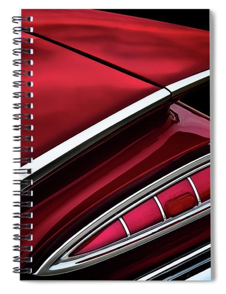 Red Tail Impala Vintage '59 Spiral Notebook